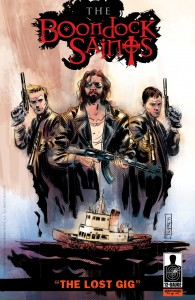 "The Boondock Saints: ""The Lost Gig"" cover"