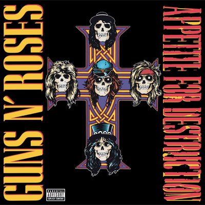 guns n roses 1st album